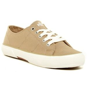 Ralph Lauren Jolie tan sneakers 7.5